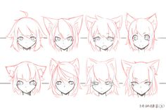 Face Style Variations by Mendel Oh