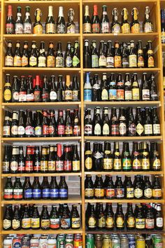 Drink at least 100  different beers √