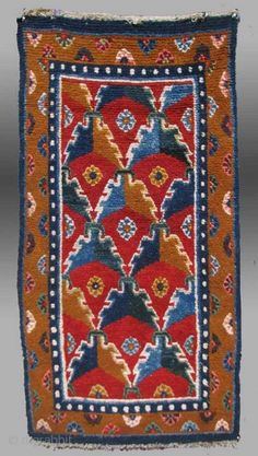 ) Tibet, late century (circa x The world Tibetan rugs commands a small but very devoted crowd. In no other aspect of antique collectible tribal . Tibetan Rugs, Tibetan Art, Kilim Rugs, Vintage Rugs, Textile Art, Carpets, 19th Century, Bohemian Rug, Textiles