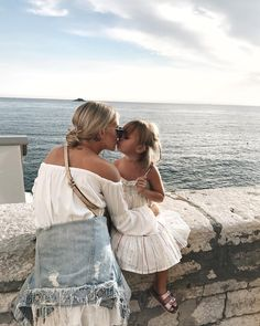 Making memories with you is my favorite thing to do. Mother Daughter Outfits, Mom Daughter, Mom And Baby, Baby Love, Baby Girl Fashion, Kids Fashion, Cute Kids, Cute Babies, Mommy And Me Photo Shoot