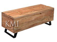 "ławka ze schowkiem ""Organic Loft"" natural"