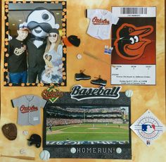Camden Yards Fun.. Go Orioles! by ScrapbookWorthyB on Etsy