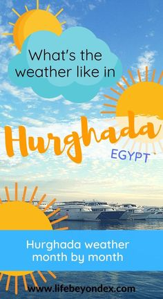 What is the weather like in Hurghada? What's the weather like in the winter? What about in the summer? Is it hot there in Hurghada? Is it ever cold? Here is all you need to know about the weather in Hurghada. Wetter Im Winter, Bbc Weather, Holiday Weather, Hurghada Egypt, How To Get Tan, Travel Advise, Visit Egypt, Egypt Travel, Next Holiday