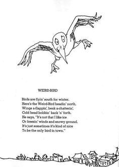 "Shel Silverstein ""Weird Bird"""