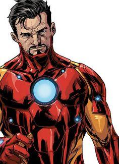 Iron Man Armor Model 37 by Mark Brooks