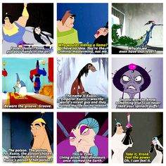The Emperor's New Groove. I love this movie.   favorite.