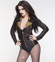 """The """"Glampire"""" WWE Diva Paige"""
