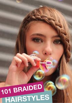 Over 100 braided hairstyles! Check them all out for a new hairstyle!