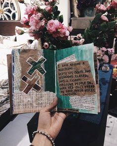 ART JOURNAL + POETRY by Noor Unnahar // journaling ideas, notebook, words, quotes, poem, inspiration, tumblr grunge aesthetics hipsters craft diy, instagram photography artists, floral //