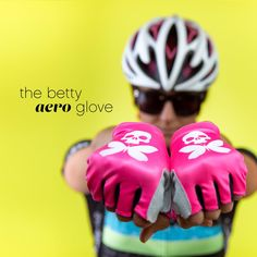 Check out Betty's latest HOT (pink) must-have cycling accessory: http://www.bettydesigns.com/products/the-betty-aero-glove …
