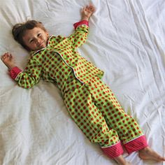 warm button front pajama shirt with pajama pants sewing pattern.