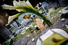 SHOSHO Designs - City Chic Tablescape Detail