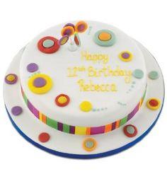 Nice single-layer cake