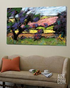Pastel Landscape I Loft Art by Jacques Clement at Art.com