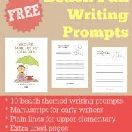 All kinds of free writing prompts from Frugal Homeschool Family