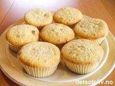 Sitronmuffins med mandler