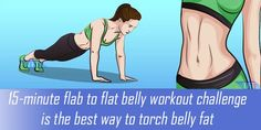 This flab to flat belly workout challenge is the best way to torch belly fat and strengthen your abdominal muscles. It's quick, simple and it doesn't require any special equipment. 6 Pack Abs Workout, Flat Belly Workout, Tummy Workout, Abs Workout Routines, Abs Workout For Women, Toning Workouts, Workout Challenge, Week Workout, Melt Belly Fat