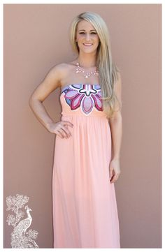 Ruffled Feathers Boutique - Eyes On Me Maxi, $39.99 (http://www.ruffledfeathersboutique.com/eyes-on-me-maxi/)