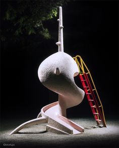 See the photo of architecture set For years Japanese photographer Kito Fujio has been working on his photographic experimentation in playgrounds Modern Playground, Playground Design, Children Playground, Playground Ideas, Night Time Photography, Passion Photography, Art Photography, Isamu Noguchi, Cool Playgrounds