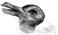 The 'Duck or rabbit?' optical illusion, called 'Kaninchen und Ente' in German, is more than 100 years old and first appeared in a German magazine around 1892 See And Say, What Do You See, How To Find Out, Illusion Pictures, Illusion Games, Duck Or Rabbit, Old Images, Art Graphique, Street Art