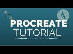 ▶ Procreate Tutorial 2 - YouTube