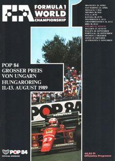 5º Grosser de Preis von Ungarn, Hungaroring, 1989