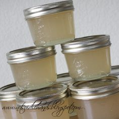 Pear Jelly. Will make this when the pear tree I planted bears fruit!