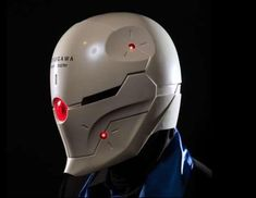 3ders.org - Mechanical 3D printed Gray Fox helmet takes Metal Gear Solid cosplay to the next level | 3D Printer News & 3D Printing News