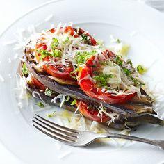 grilled eggplant parmesean