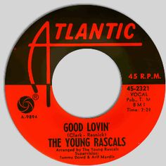 young rascals 45 label | Classic Other Northern Soul 45: The Rascals--Good Lovin'/ Mustang ...
