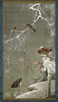 Ito Jakuchu (1716 – 1800) - Japanese imperial family cultural treasure