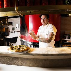 This Brooklyn restaurant may have opened with a bang, thanks to the bartending skills of one Bill Murray, but it's chef Sean Telo's killer pizza that has us hooked.