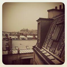 snowy Paris Rooftops, Paris Travel, Louvre, Houses, Snow, Instagram, Building, Photos, Style