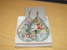 Abstract Strung Earrings  $12