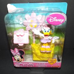 Fisher-Price Disney Minnie Mouse DAISY's SIPPIN' LEMONADE STAND Figure Set NEW! #FisherPrice
