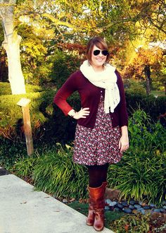 Burgundy outfit by lizurso, via Flickr