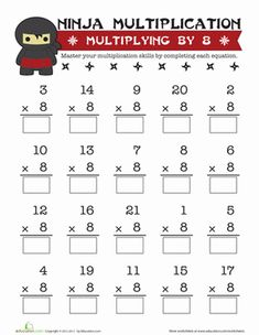 Printables Fun Math Worksheets For 6th Grade the ojays products and worksheets on pinterest fun multiplication fourth grade multiplying by 8