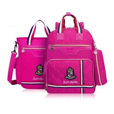 42c2d7e2ca high quality british style school backpack for girls orthopedic school bag  girl schoolbag red book bag set cute pencil case -in School Bags from  Luggage ...