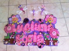 Letrero Bienvenido Cartel Nombre Baby Shower Nacimiento (Mesas ... Cardboard Letters, Wooden Letters, Baby Shower Cupcakes, Foam Crafts, Ideas Para, Lettering, Banners, Google, Victoria