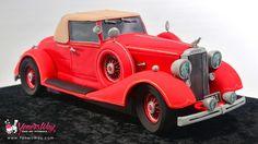Vintage Car Cake - Cake by Yeners Way - Cake Art Tutorials Car Cakes For Men, Birthday Cakes For Men, 70th Birthday, Happy Birthday, Cars Cake Design, Car Cake Tutorial, Truck Cakes, Cake Decorating Tutorials, Art Tutorials