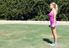 2. Weighted Lunge