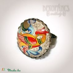 Firenzei álom - gyűrű (dekopancs) - Meska.hu Ale, Paintings, Jewellery, Jewels, Paint, Jewelry Shop, Painting Art, Jewerly, Ales