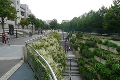 Paris' Popular Urban Green Space Transformed from Abandoned Railway