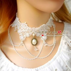 necklace, lace necklace Small beige multi layer short design female pearl lace bridal necklace wedding diy handmade accessories-inChoker Necklaces from Jewelry on Aliexpress.com | Alibaba Group