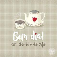 Com cheirinho de café