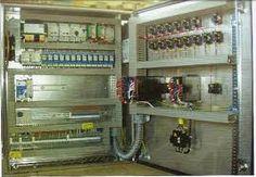 #Elektrotechnik Steuerungsschrank – control cabinet, control panel, panel #learngerman