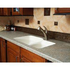 Karran Sorrento Double Bowl Under Mount Sink >>> Click image for more details.