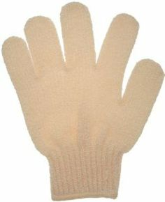 Spa Sister Exfoliating Bathing Gloves - Beige by Spa Sister. $6.70. Exfoliating Bathing Gloves Exfoliate & renew your skin in the shower or bath Helps improve circulation & overall skin tone Leaves skin perfectly primed for your favorite moisturizer 100% nylon. Directions: Try using both hands. Exfoliate skin to aid in circulation and improve skin tone in half the time...leaving skin that's perfectly primed for moisturizing. Dissolve your favorite bath gel onto glov...