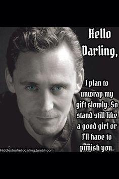 Birthday boy does what he wants. ;) Happy Birthday Tom Hiddleston!
