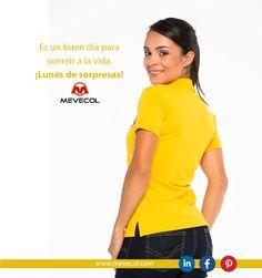 ¡Sonríele al comienzo de semana! #UniformesMevecol